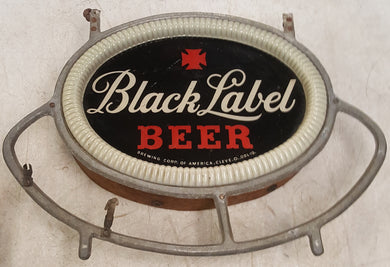 Vintage Black Label Beer Sign (no neon) 14