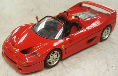 1995 Bburago Ferrari F50 Red 1:18 Diecast Car - Made in Italy