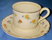 Load image into Gallery viewer, Vintage Radisson W. S. George 1698 Gold Trim Cup and Saucer