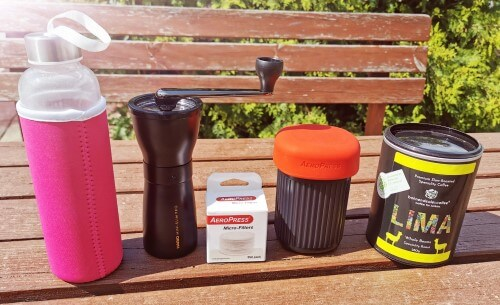 Aeropress Go Testen mit Don Dealer von bohnendealer.coffee