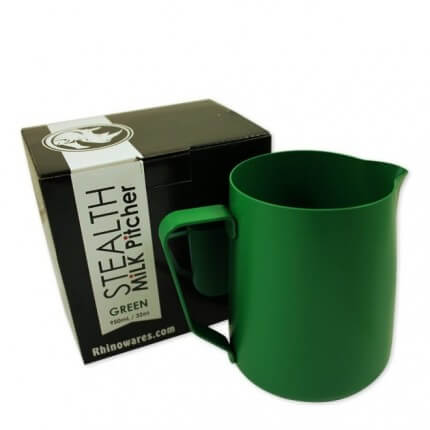 Rhino Stealth Milk Pitcher Green