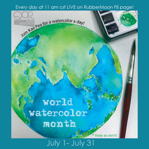 worldwide watercolor month