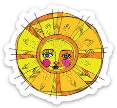 Limited Edition Sun Beams Sticker