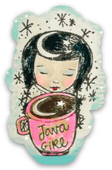 RubberMoon | Java Girl Sticker