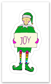 RubberMoon | Joyful Elf Sticker
