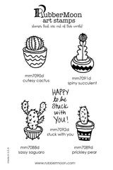 Maxi Moon | MMCC05 | Cute Cacti Stamp Set