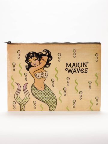 Blue Q | Makin' Waves Jumbo Pouch
