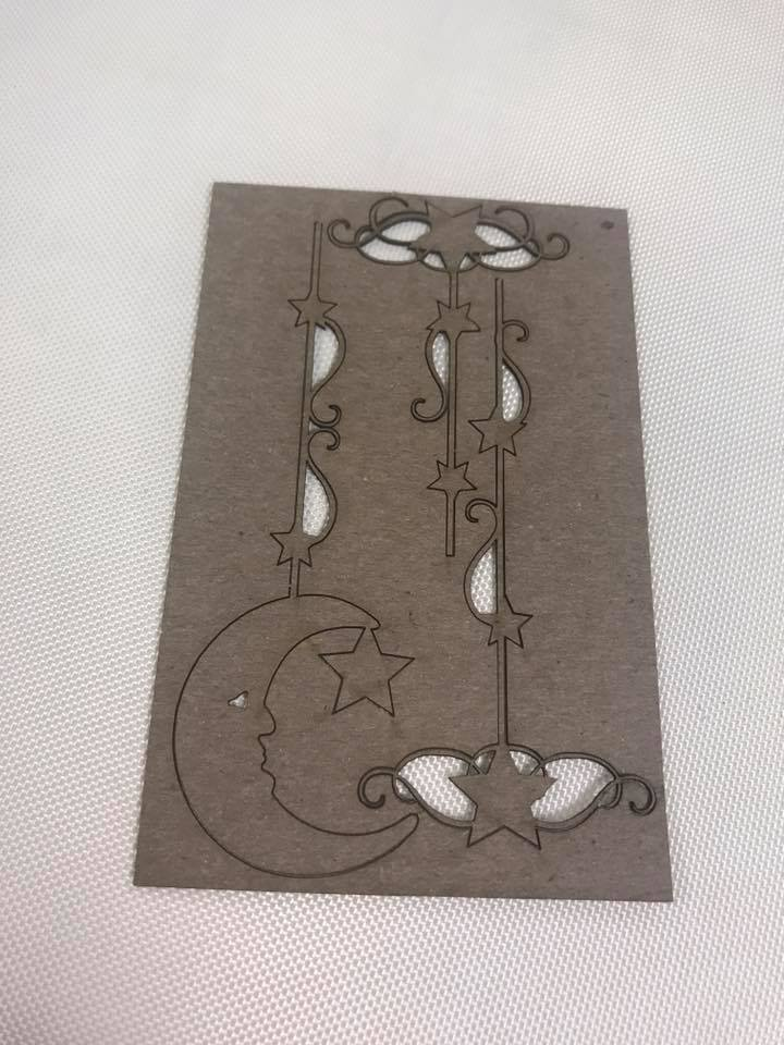 Celestial String-Along Chipboard Cutouts