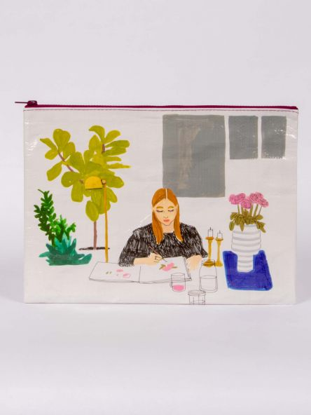 Blue Q | The Painter Jumbo Pouch