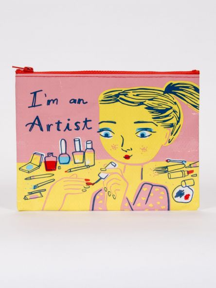 Blue Q | I'm An Artist Zipper Pouch