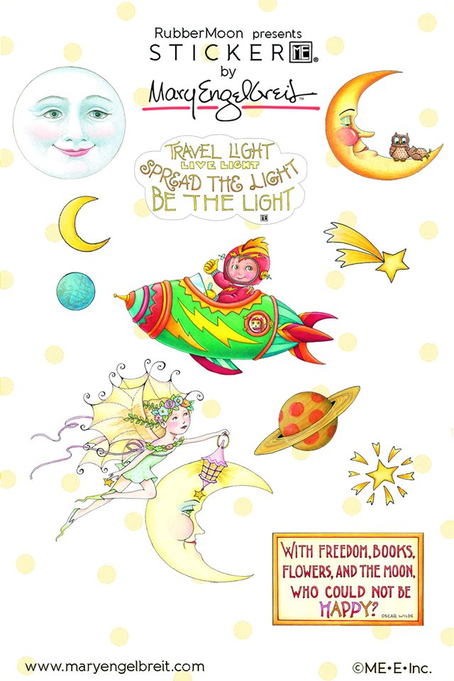 Mary Engelbreit | Mary's Moonbeams Limited Edition Sticker Sheet