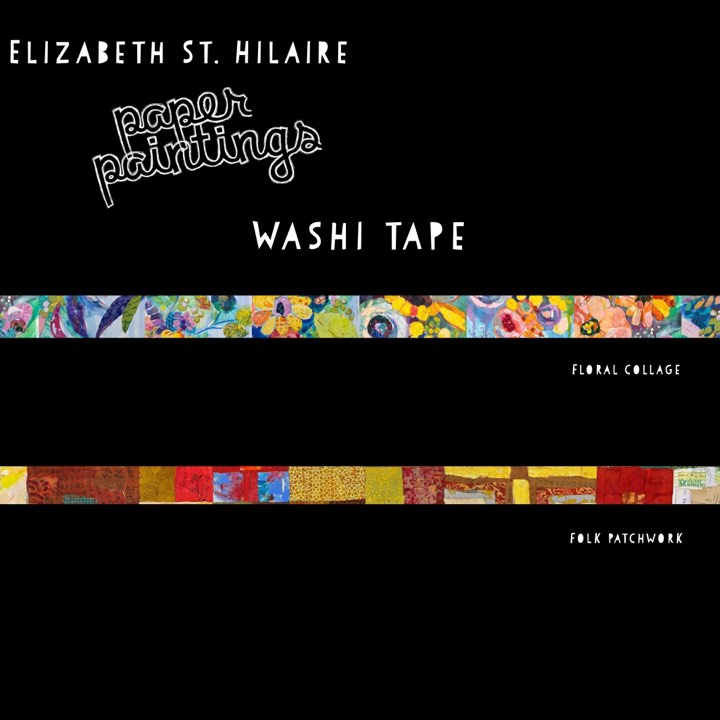 Elizabeth St. Hilaire | Washi Tape | Set of 2