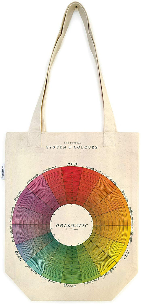 Cavallini Paper & Co. | Color Wheel Tote Bag