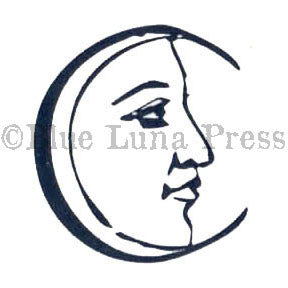Ma Vinci | BLP552B - C is for Crescent - Rubber Art Stamp