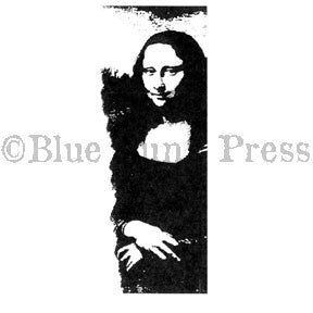 Ma Vinci | BLP566G - Mona Strip - Rubber Art Stamp