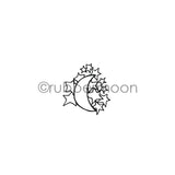 Barb Rogers | BR7355E - Moon and Star Cargo - Rubber Art Stamp