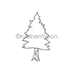 Barb Rogers | BR7364H - Fine Pine - Rubber Art Stamp