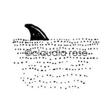 Claudia Rose | CR223E - Shark Fin - Rubber Art Stamp