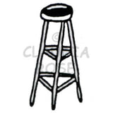 stool art stamp