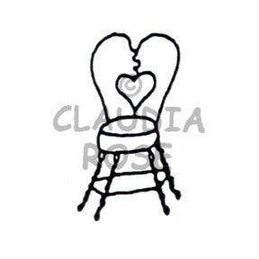 Claudia Rose | CR914D - Cafe Chair - Rubber Art Stamp