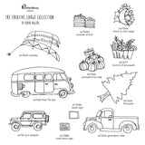 Barb Rogers | BRCCC11 - Creative Cargo Collection - Rubber Art Stamps