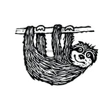 Donna Gray | DG7495H - Sam Sloth - Rubber Art Stamp