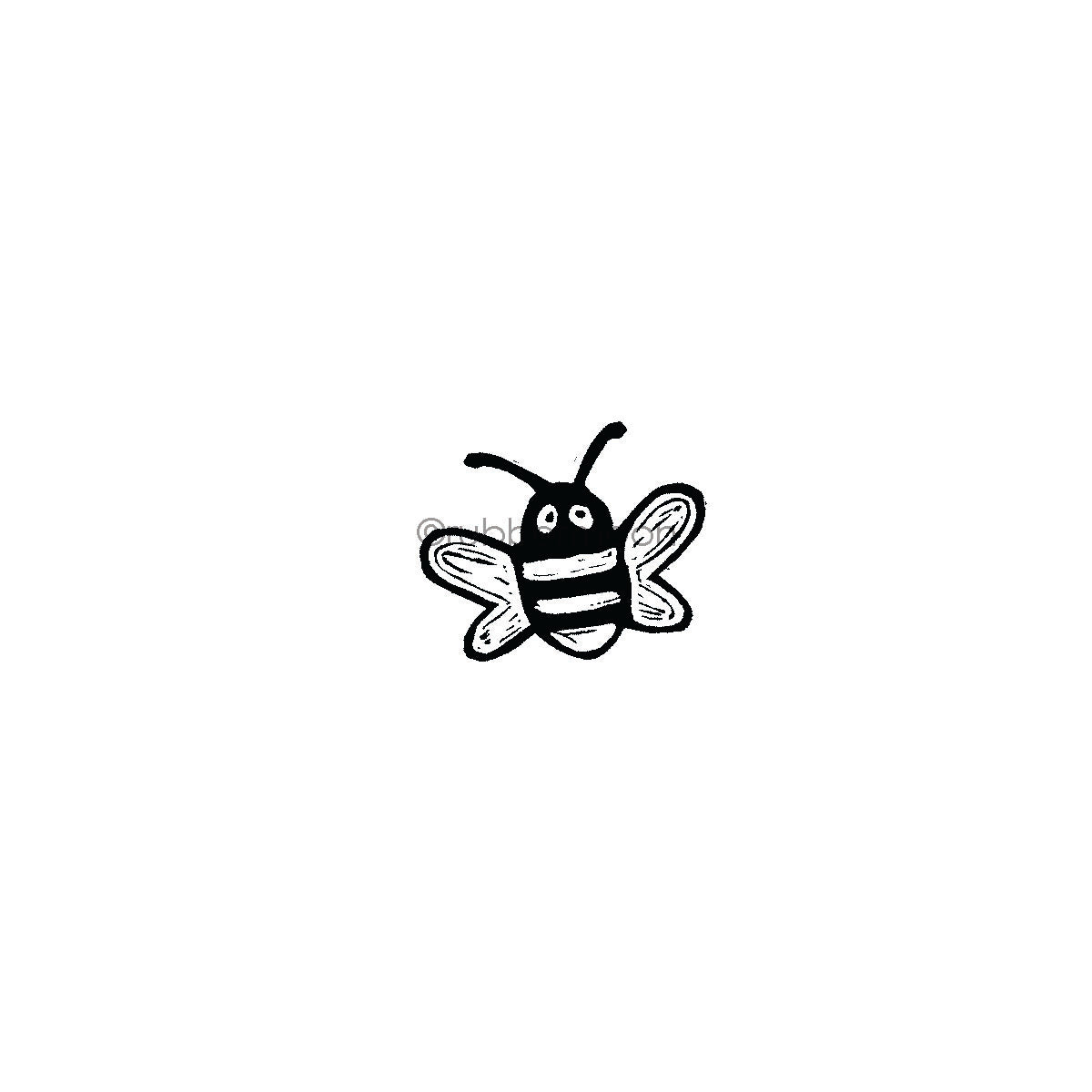 Donna Gray | DG7496D - Buzzy Bee - Rubber Art Stamp