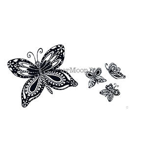 Effie Glitzfinger | EG107DG - Imaginative Butterfly Set - Digi Stamp