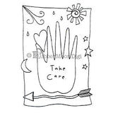 Effie Glitzfinger | EG110DG - Take Care - Digi Stamp