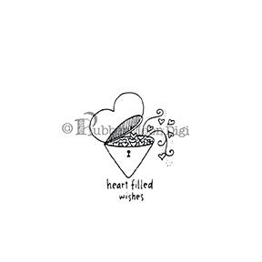 Effie Glitzfinger | EG122DG - Heart Filled Wishes - Digi Stamp