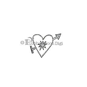 Heart With Soul - EG148DG - Digi Stamp
