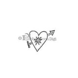 Effie Glitzfinger | EG148DG - Heart With Soul - Digi Stamp