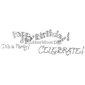 Birthday Set - EG156DG - Digi Stamp