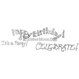 Effie Glitzfinger | EG156DG - Birthday Set - Digi Stamp
