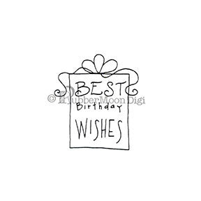 Best Birthday Wishes - EG162DG - Digi Stamp