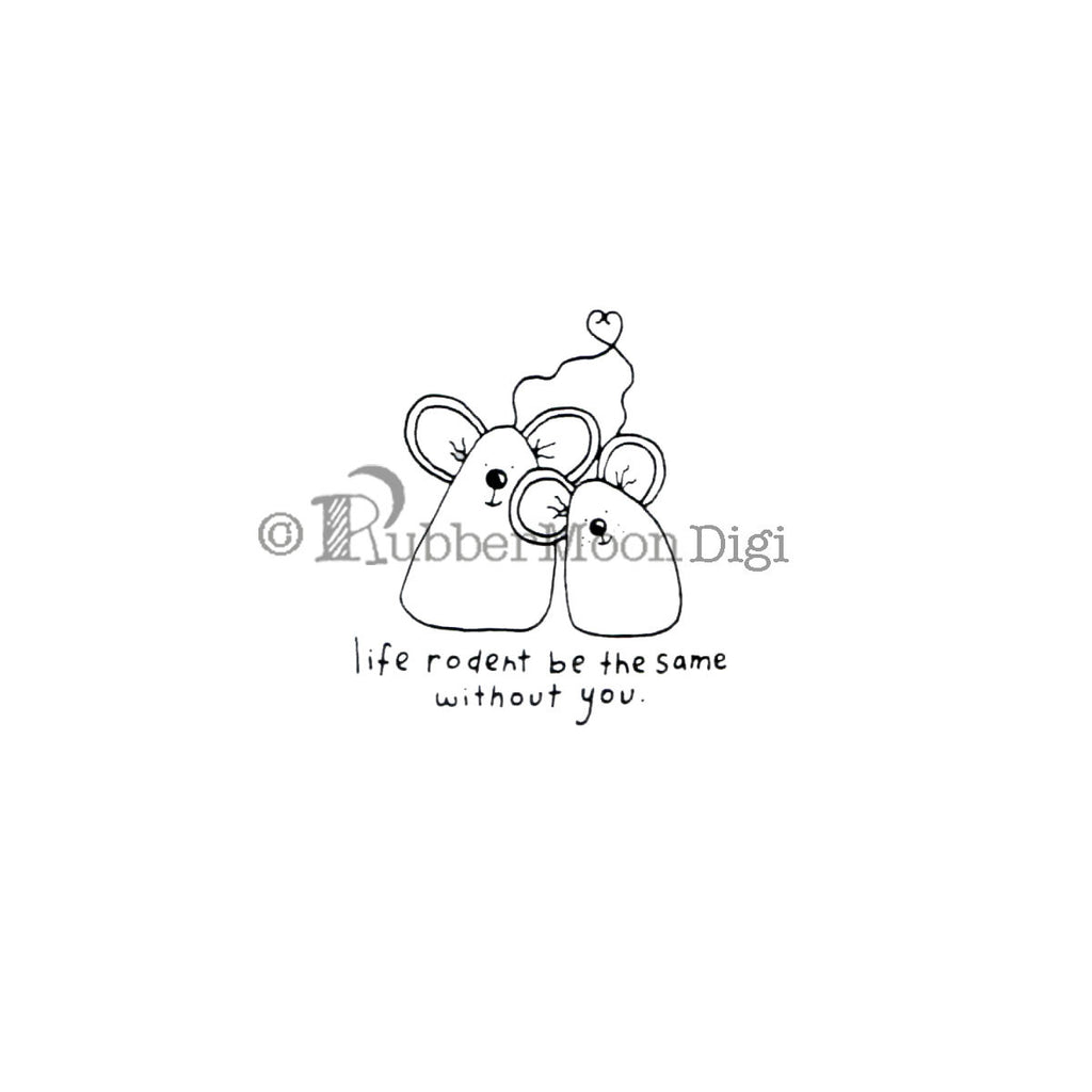 Life Rodent be the Same - EG179DG - Digi Stamp