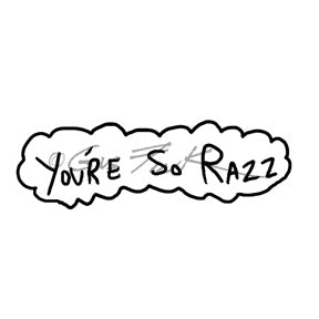 "Gus Fink | GF7132E - ""You're So Razz"" - Rubber Art Stamp"