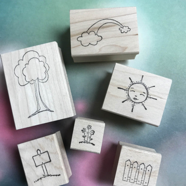 Kae Pea | KPHD06 | Happy Day Stamp Set