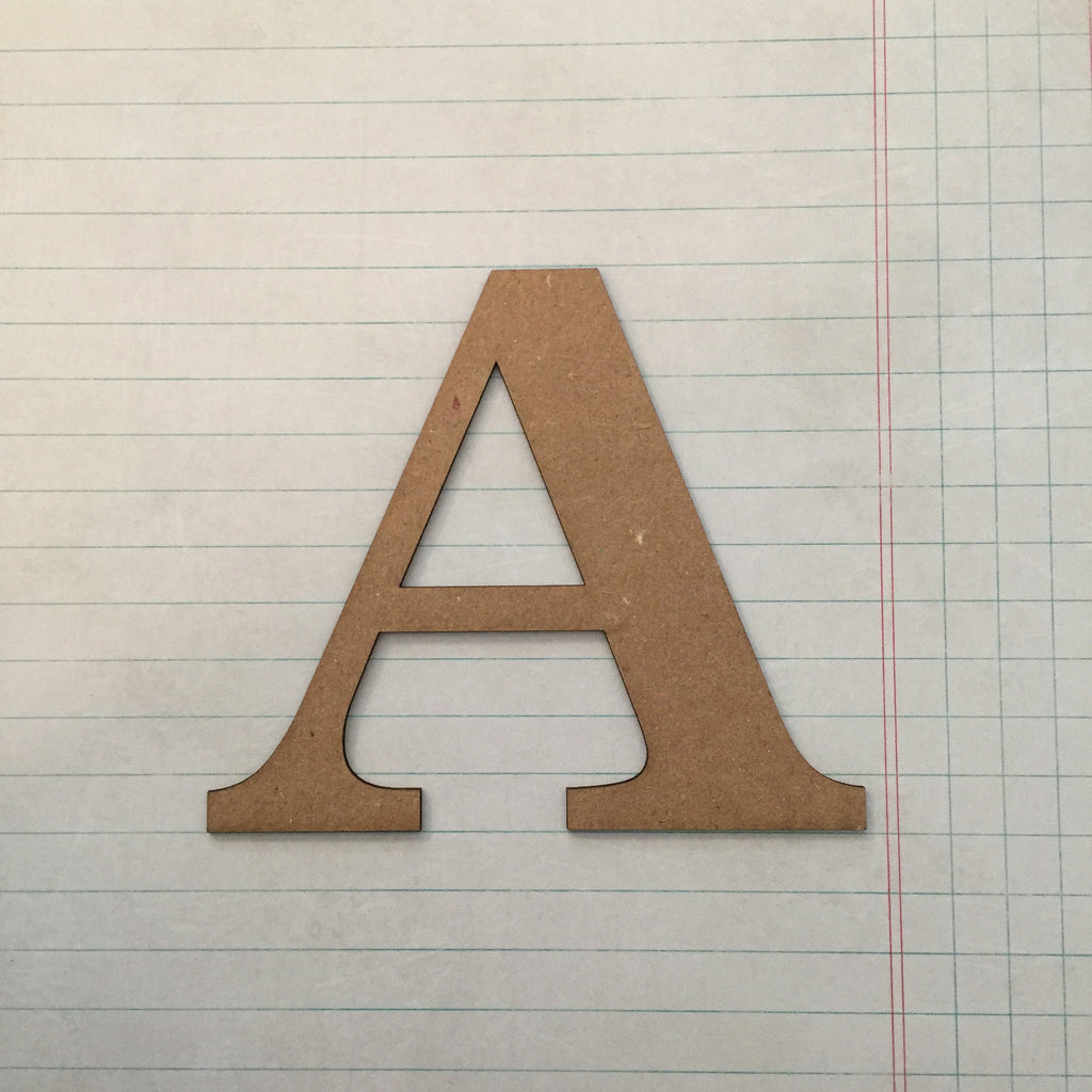 "Alphabet Letter ""A"" Stamping Blankz SBL-A"