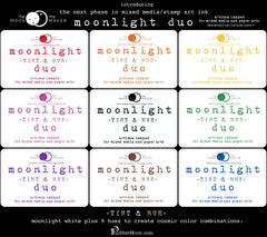 Moonlight Duo Tint & Hue Ink Pads - Assorted Colors