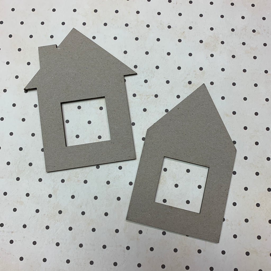 House Facades | Set of 2