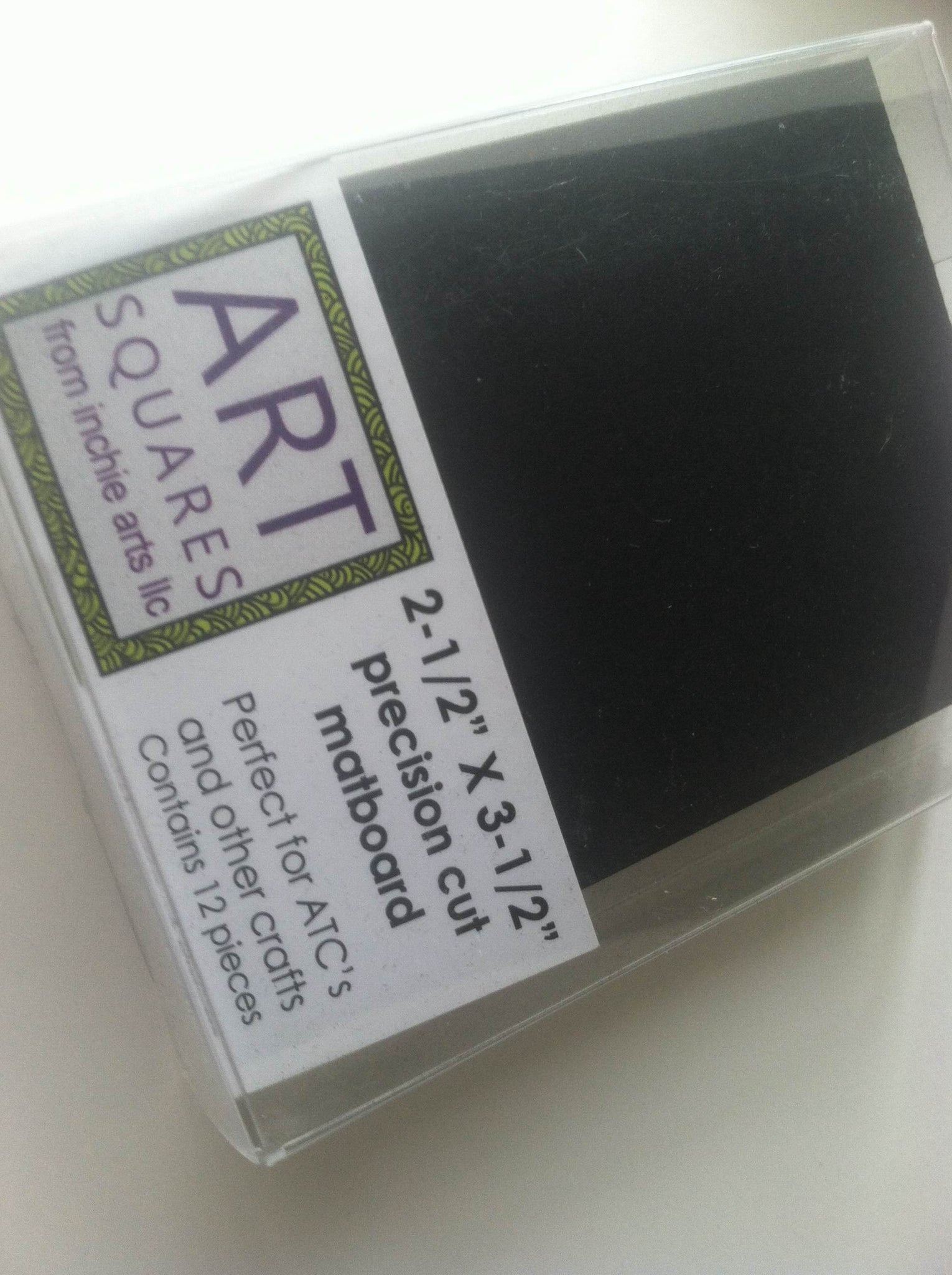 "ATC Art Squares from Inchie Arts (Box of 12) (2 1/2"" X 3 1/2"")"