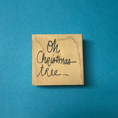 Kae Pea | KP5120E - Oh Christmas Tree - Factory Seconds Stamp