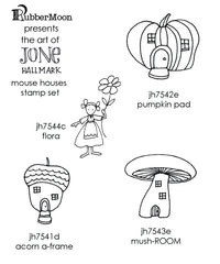 Jone Hallmark | JH04MH - Mouse Houses Stamp Set