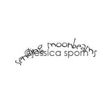 Jessica Sporn | JS5447F - Sending Moonbeams - Rubber Art Stamp