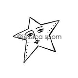 Build-A-Cosmos | Starlight - JS5451G - Rubber Art Stamp