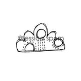 Build-A-Neighborhood |  Cloudy Day - JS5456D - Rubber Art Stamp