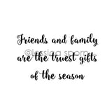 "Jessica Sporn | JS7072G - ""Truest Gifts"" - Rubber Art Stamp"