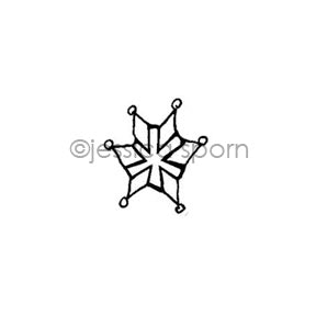 Jessica Sporn | JS7084AA - Forest Star - Rubber Art Stamp