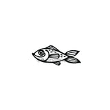 Kim Geiser | KG7472E - Seems Fishy - Rubber Art Stamp